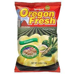 美國進口 Oregon 奧勒岡洋芋片-嗆辣芥末150g