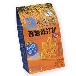正哲生技 礦鹽蘇打餅-胡椒蕎麥