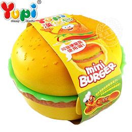 呦皮 漢堡包QQ軟糖便當