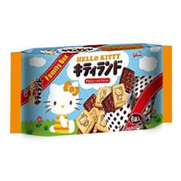 格力高凱蒂貓樂園巧克力餅乾