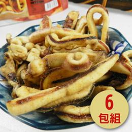 咔啦脆蝦/魷魚酥 6包入