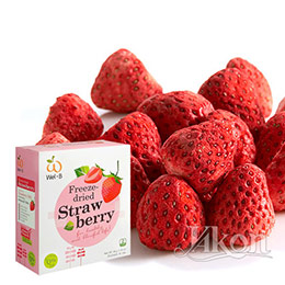 Wel‧B鮮果凍乾_草莓