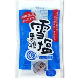 日本宮古島100%雪塩黑糖