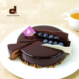 巧莓三重奏蛋糕6吋<br>2014 巧克力組 季軍