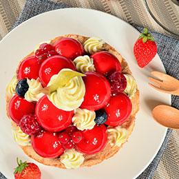 莓果寶石蛋糕<br>買就送:布朗尼乙份