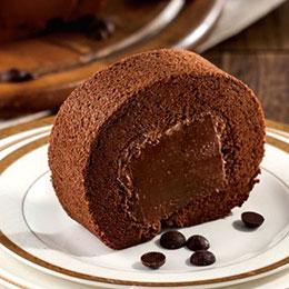 莊園巧克力榛果捲+洛神蛋糕<br>買就送:德式布丁