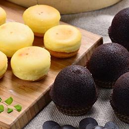 乳酪球32入+巧克力布朗尼12入