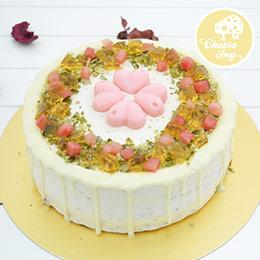 母親節玫瑰西瓜蛋糕