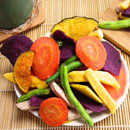 綜合高纖蔬果脆片/蔓莓堅果