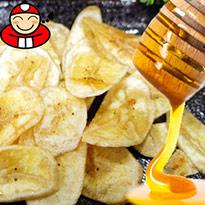 泰國特產★薄脆!蜂蜜香蕉脆片