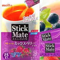 日本★Stick Mate 綜合莓果茶 8入