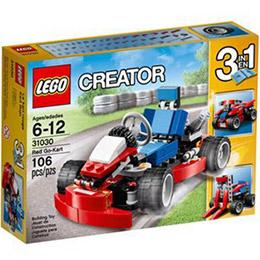 樂高積木LEGO-紅色卡丁車
