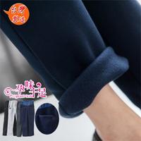 台灣製暖冬款鋪棉設計長褲4色