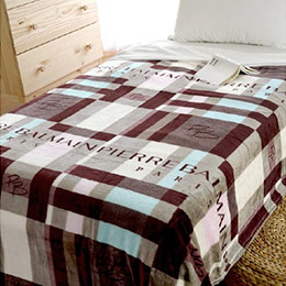 PIERRE BALMAIN品牌法蘭絨休閒毯 (150×200cm)