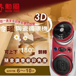 《勳風》MEIJI美緻冷暖陶瓷電暖器