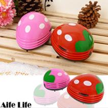 草莓桌上型吸塵器