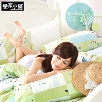 陽光系列40支100%精梳棉雙人床包組