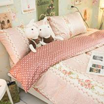 Olivia經典小碎花 雙人床包三件組