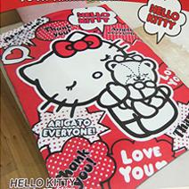 Hello Kitty40周年懶人毯