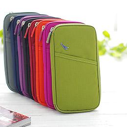 多功能旅行收納護照包