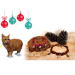 波西米亞編織寵物項圈(貓咪專用)