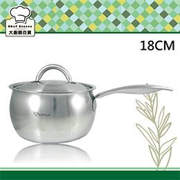 【牛頭牌】湯鍋雅登不銹鋼蘋果鍋18cm