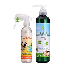 寵物頂級防護沐浴乳+除臭噴霧
