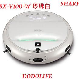 夏普 SHARP 人工智慧機器人吸塵器 RX-V100-W