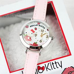 日本製造Hello Kitty立體軟陶款式精品手錶