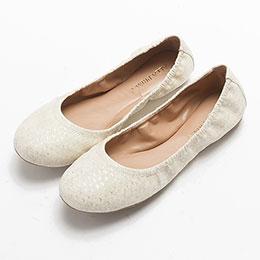 TESSA 優雅百搭紋路平底娃娃鞋