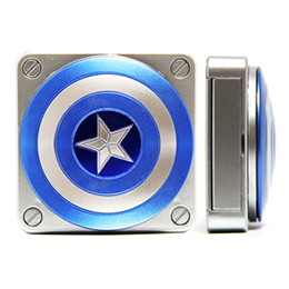 國隊長 立體-藍盾牌 LED行動電源 5000mAh