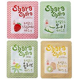 韓國Shara Shara 莎拉莎拉美味沙司系列面膜12入