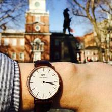 瑞典Daniel Wellington 40mm玫瑰金腕表