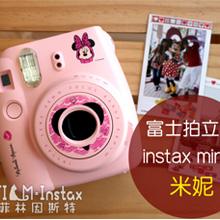 富士拍立得 mini 8 粉紅米妮版 原裝進口