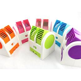 【最新USB風扇】 雙風口 雙供電可攜式 雙供電可攜式