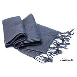 70%喀什米爾羊毛 30%絲 厚織圍巾