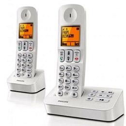 飛利浦中文數位子母無線電話D4052W/ D4052