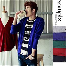 專區520起,韓國製素色針織罩衫