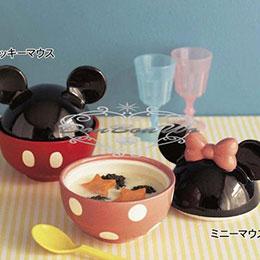 迪士尼米奇米妮碗蓋飯陶瓷碗