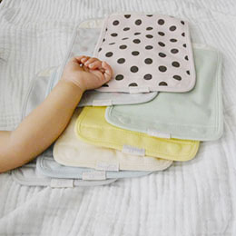 小寶跟麻麻都安心的有機安撫巾