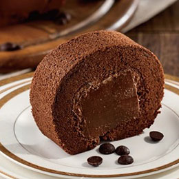 巧克力榛果捲+洛神蛋糕★送德式布丁塔
