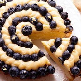 法式純手工藍莓塔★藍莓會噴汁