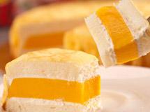 岩燒凍感芒果蛋糕