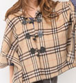 流行女裝,牛角釦,針織,格紋,斗篷,圍巾,寬鬆大衣,外套,英倫,日系,韓版,民族圖騰