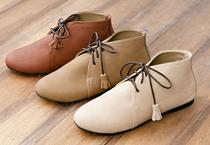 流蘇綁帶包鞋精靈靴