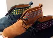 民俗圖騰中筒沙漠鞋