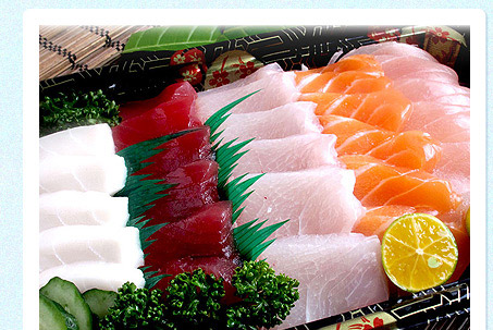 旬鮮風味五色生魚片
