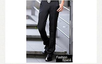 黑色素面小直筒窄版西裝褲