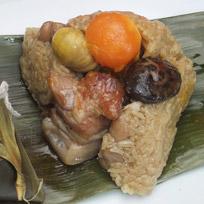 『億長御坊』台灣排骨酥粽