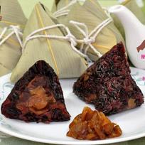 『正一排骨』紫米桂圓甜粽